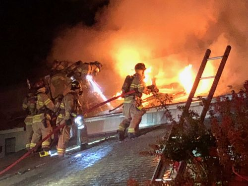 Candle sparks fire in Sacramento townhome