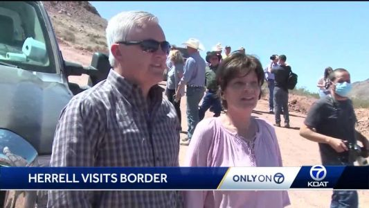Rep. Herrell visits southern New Mexico, urges Biden administration to finish border wall