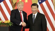 Twitter Users Livid After Trump Seems To Mock Chinese President's Accent