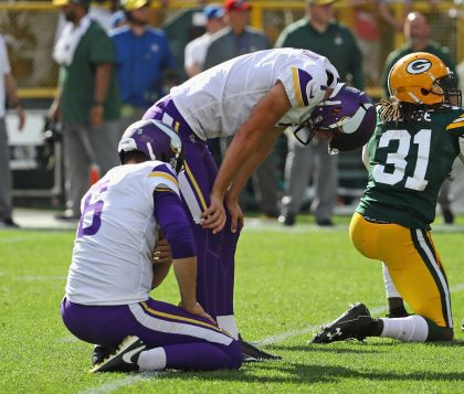 4 Takeaways: Vikings Tie Packers, 29-29