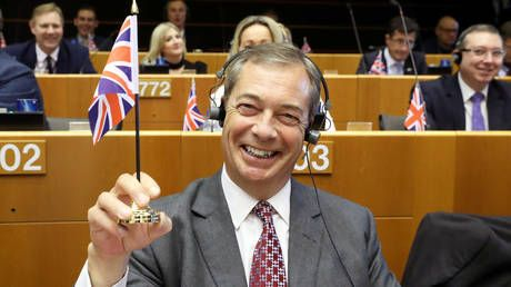 'Baseless propaganda': Farage's Brexit Party votes against EU resolution to counter 'Russian election meddling'