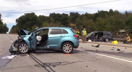 Two people are dead following a crash in Beaver County
