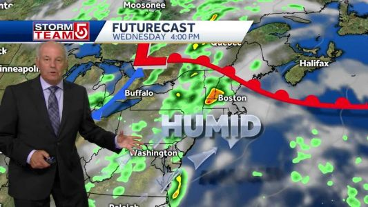 Video: High threat of strong winds, downpours, lightning