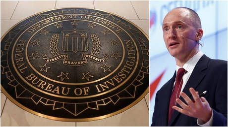 'Spygate' update: At least two FISA warrants to spy on Carter Page were 'not valid' DOJ says