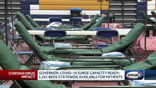 COVID-19 surge capacity ready, governor says