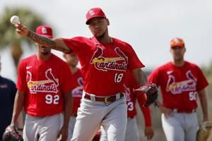 Martinez eyes Cardinals rotation spot with Mikolas sidelined