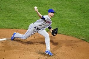Jacob deGrom leaves Mets' game vs. Phillies after second inning with right hamstring spasm