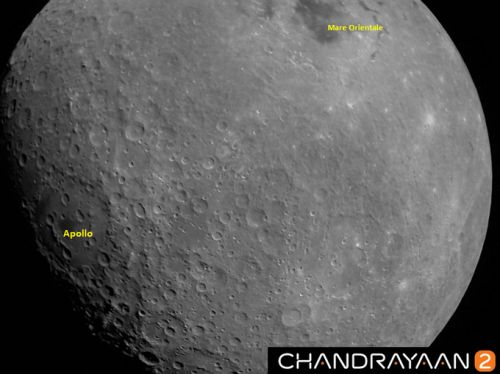 India's Chandrayaan-2 Spacecraft Snaps Its First Picture of the Moon