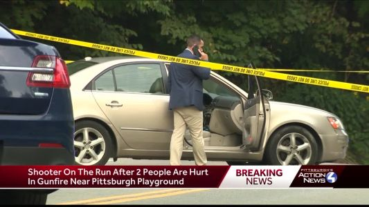 Pittsburgh police investigate a double shooting