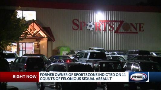 Former owner of Sports Zone indicted on 11 counts of felonious sexual assault