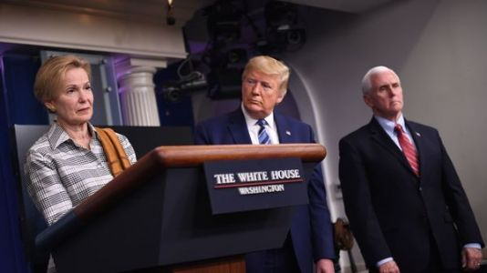 White House Task Force Warns Of Deadly Week Ahead As Trump Blames Governors