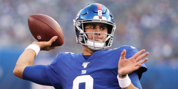 Giants rookie quarterback Daniel Jones is suddenly making a run for Eli Manning's job just months after being mocked as a poor draft pick
