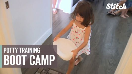 Toddlers ditch their diapers thanks to skills learned in potty training class