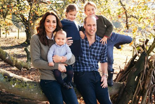 Princess Charlotte wears hand-me-downs from Prince George