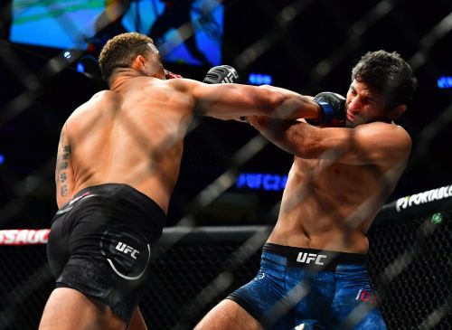 Beneil Dariush says he intentionally played with words in Robert Whittaker callout to get everyone's attention