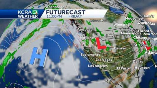 Sunny skies and stronger north winds for Northern California