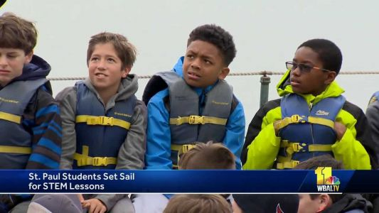 Students set sail with Living Classrooms