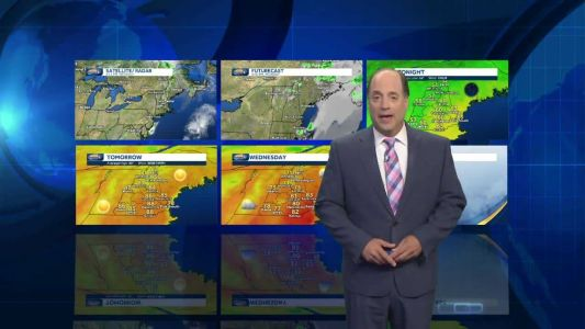 Watch: Nice day before more stormy weather