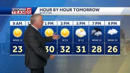 Video: Colder than average all weekend