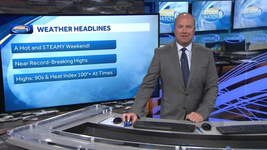 Watch: Hot and humid today