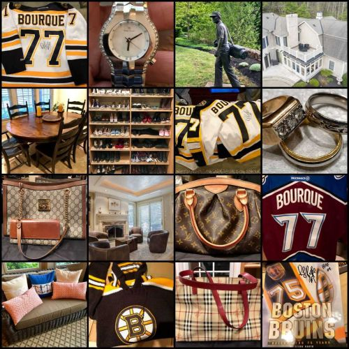 Bruins icon selling his stuff in weekend sale