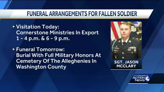 Visitation services for fallen soldier to be held Monday