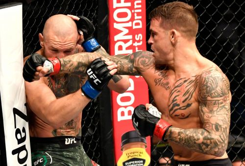 Conor McGregor stunned by Dustin Poirier in UFC return