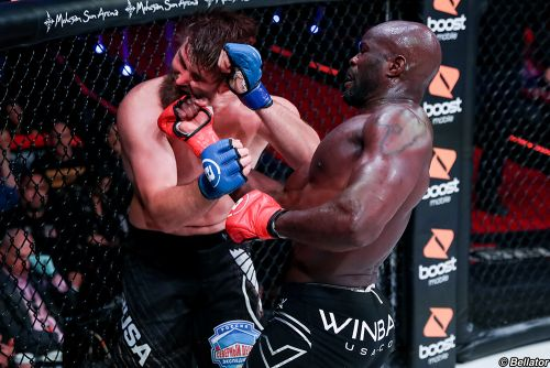 Cheick Kongo: Bellator heavyweight title would be 'good gift to promote the sport' in France