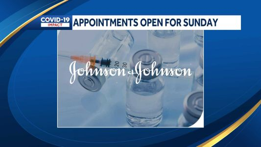 New one-dose COVID-19 vaccine appointments now available Sunday in NH