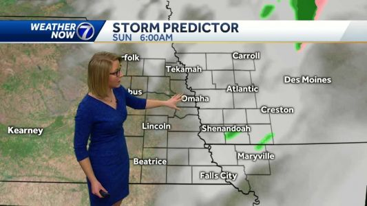 Cooler temperatures and decreasing clouds Sunday