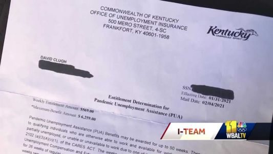 Some Marylanders still have trouble reporting out of state unemployment fraud