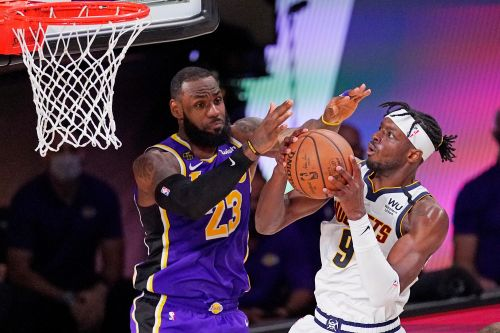 LeBron James dominates as Lakers drop Nuggets to reach NBA Finals