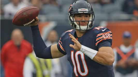 Mitchell Trubisky injury update: Bears optimistic QB can play vs. Lions
