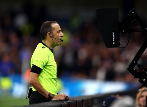 A VAR system stopped working during a Saudi Arabian soccer match after a worker unplugged it to charge his phone