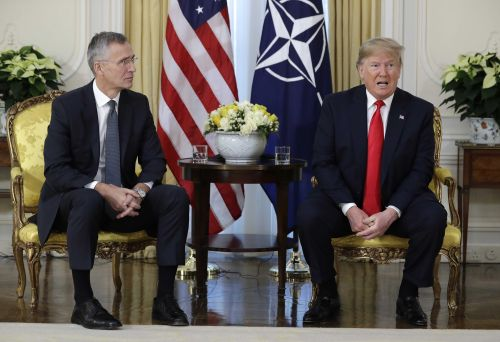 President Trump says French President Macron has insulted NATO alliance