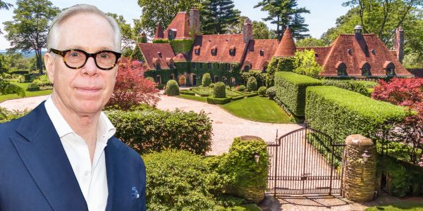 Tommy Hilfiger just sold his sprawling Greenwich estate for $45 million. Take a look at the historic 22-acre property
