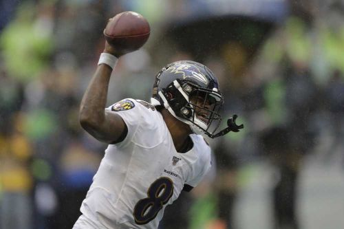 Ravens' two defensive TDs deny Seahawks