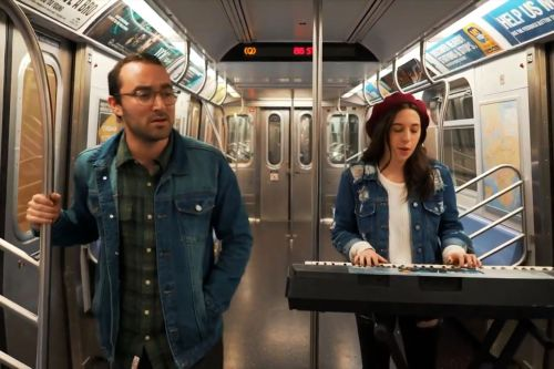 Comedians ridicule hipsters in L train shutdown parody song