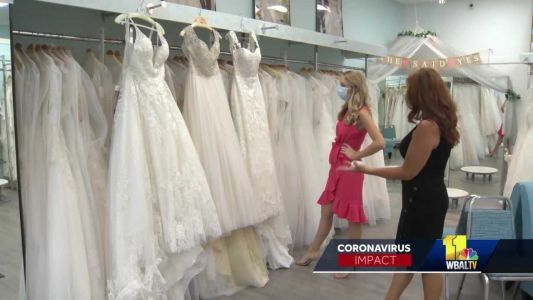 Bridal designer gifts 50 free wedding dresses to front-line workers amid pandemic