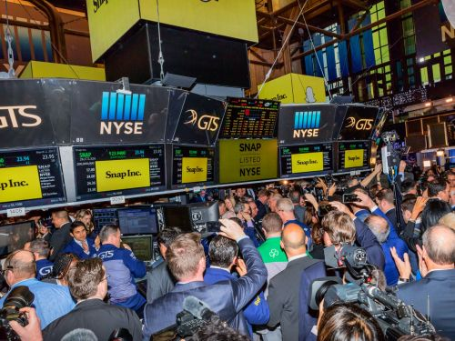 The New York Stock Exchange reportedly used stand ins to make its trading floor look busier when trying to win Snap's IPO