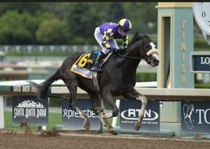 Honor A. P. wins Santa Anita Derby