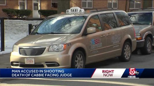 Suspect accused of killing cab driver held without bail