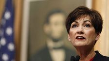 GOP Governor Kim Reynolds Says Iowa Shouldn't Permanently Strip Felons' Voting Rights