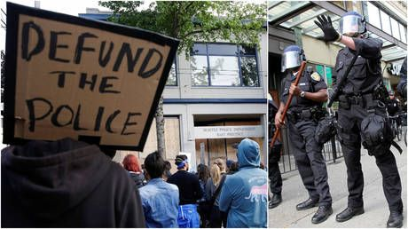 Seattle lawmakers successfully override mayor's veto on $3 million police budget cut & 100 officer layoffs