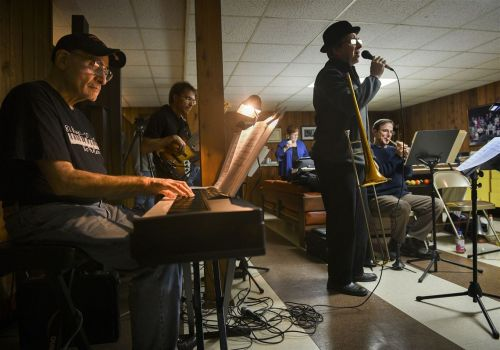 For little big band, gigs are not the main attraction
