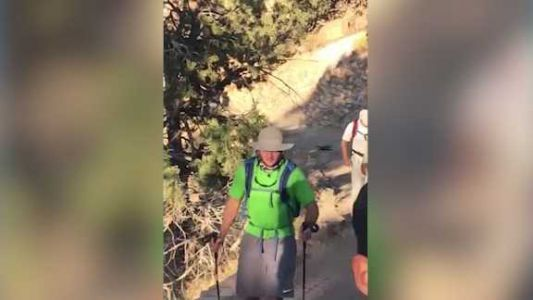 Heart transplant recipient completes 50-mile hike at Grand Canyon
