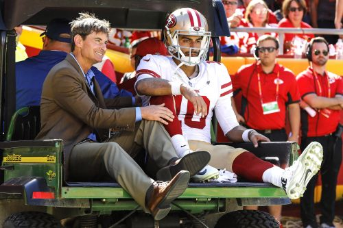 49ers' Jimmy Garoppolo crusher is now reality