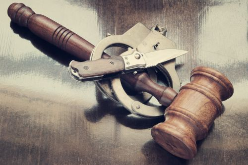 Child abuser stabs himself moments after receiving guilty verdict