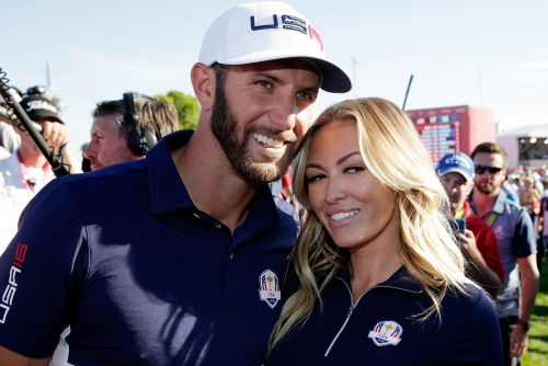 Paulina Gretzky lets Dustin Johnson out of the doghouse