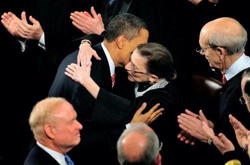 Obama says RBG 'fought to the end, through her cancer, with unwavering faith in our democracy and its ideals' and calls for the next president to fill her vacancy